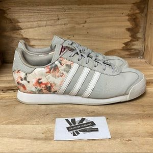 Adidas Samoa low top classic grey white fashion sneakers shoes